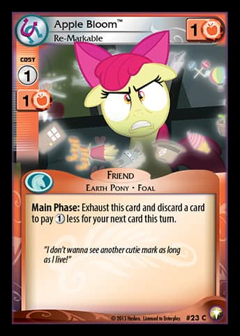 Well, what if just discard a card…?