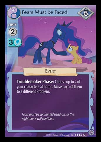 I think I listed this as my favorite card on an Enterplay survey. I also said I collected regrets.