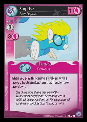 I feel like Pinky Pie would fight her for that title, and I would never bet against Pinky in a fight.