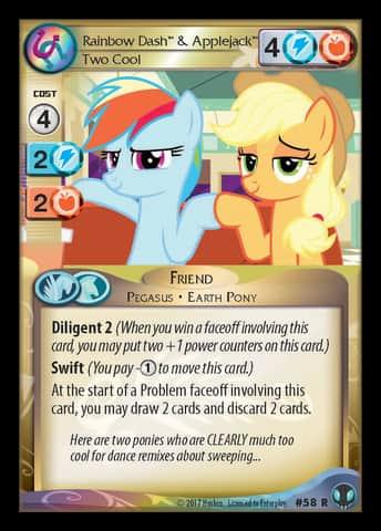 1x Spike Garbunkle 82 U My Little Pony Defenders of Equestria MLP CCG
